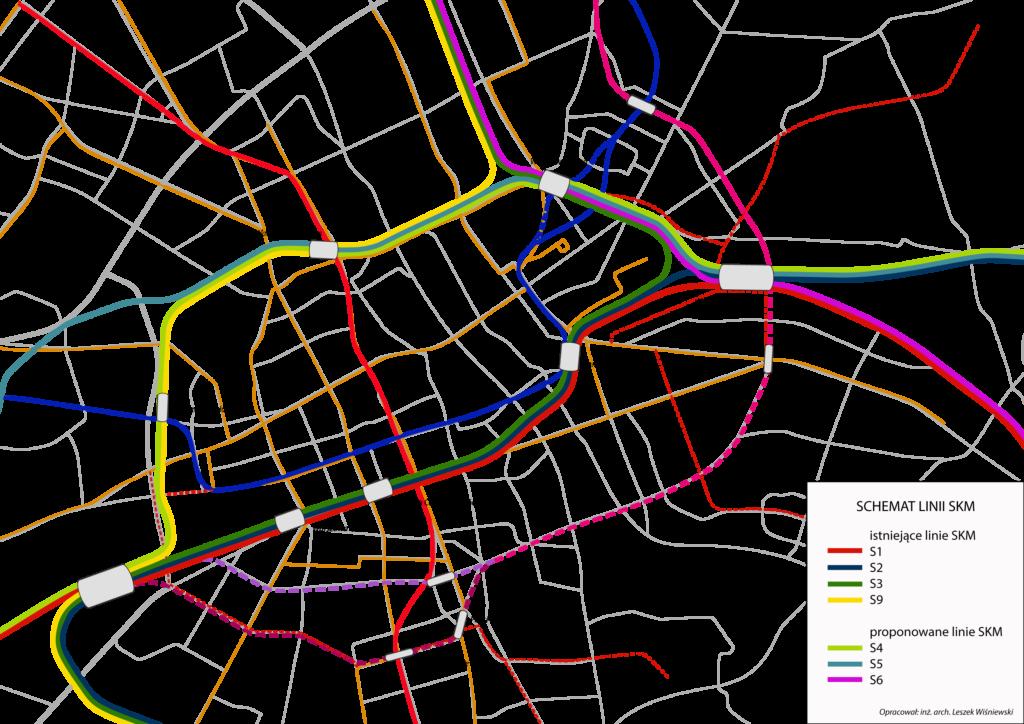 Modernizacja Warszawskiego Węzła Kolejowego SKM