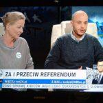 Jan Śpiewak w  Tak Jest TVN24