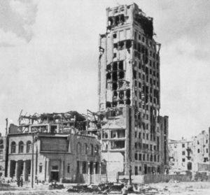 Prudential_Building_Warsaw,_1945