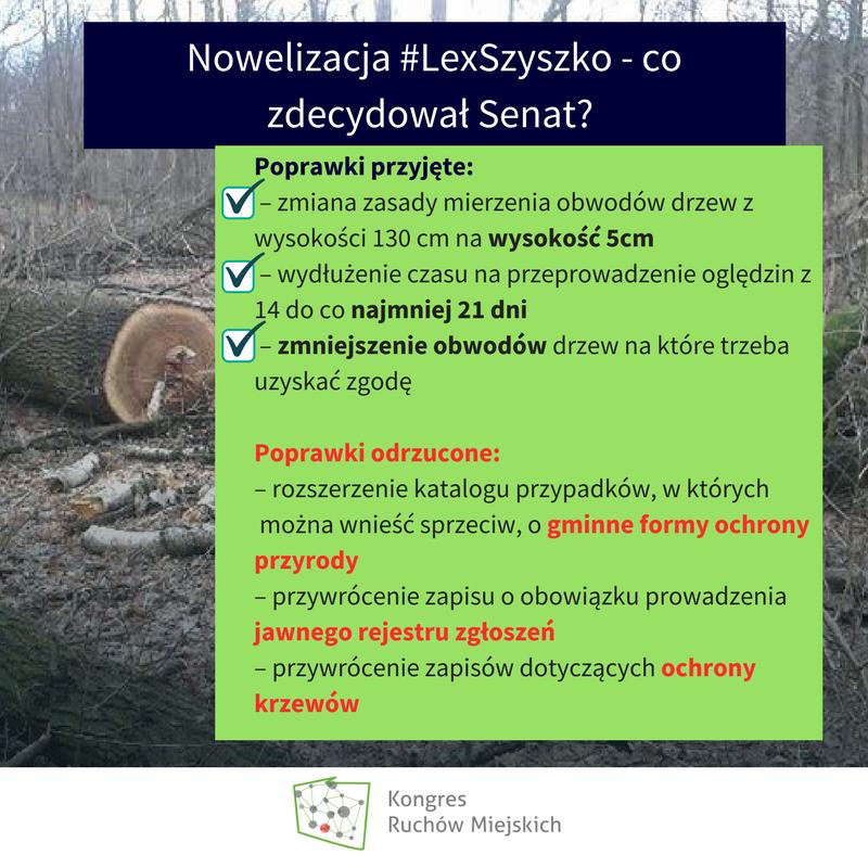Poprawiamy Lex Szyszko