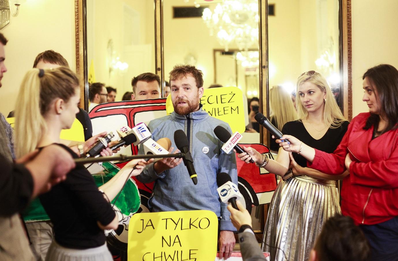 Happening - Rada Warszawy, 25.05.17