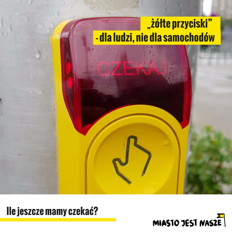 Stop żółtym przyciskom!
