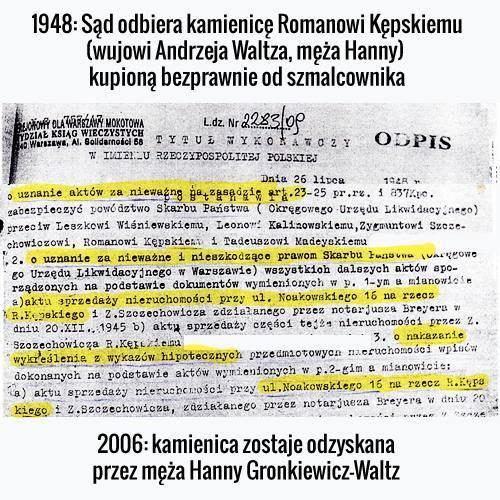 Historia kamienicy przy Noakowskiego 16