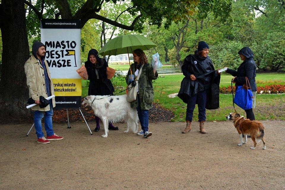 Nasz psi obowiązek – akcja naskwerze Żurowskiego