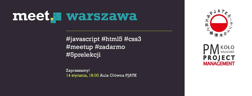 Meet.js Warszawa