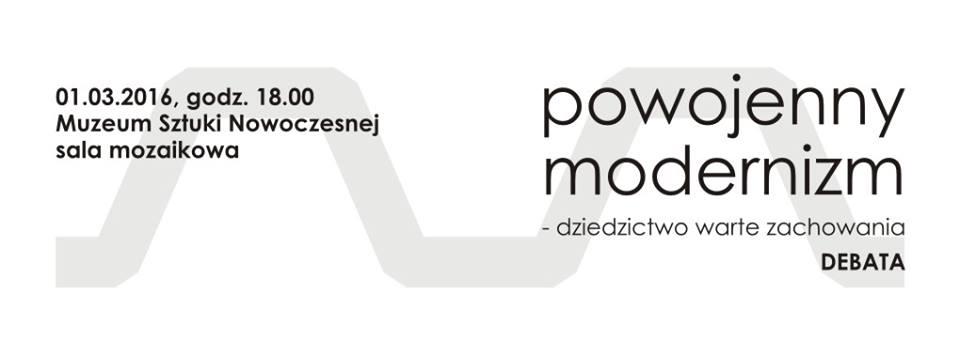 Powojenny modernizm – dziedzictwo warte zachowania