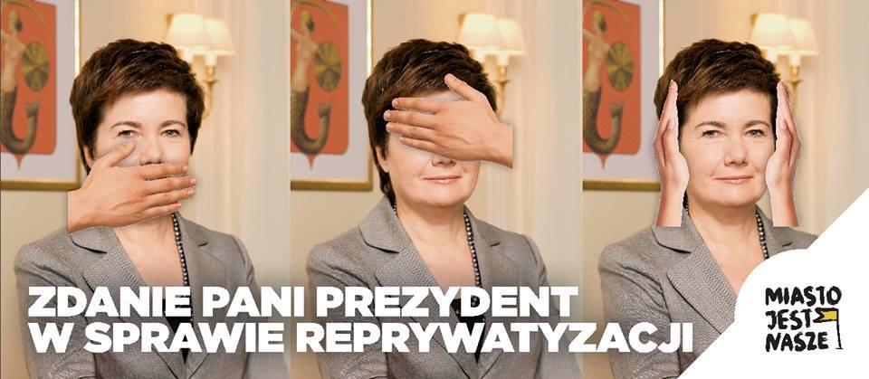 Apel doHanny Gronkiewicz-Waltz