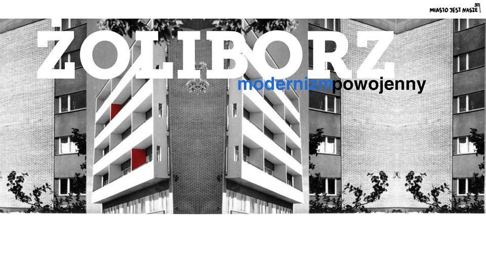 Rowerem poŻoliborzu modernistycznym
