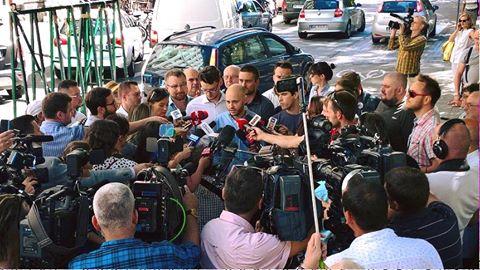 Konferencja prasowa MJN wsprawie reprywatyzacji