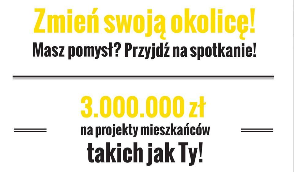Budżet Partycypacyjny 2018 – spotkanie informacyjne Praga Północ