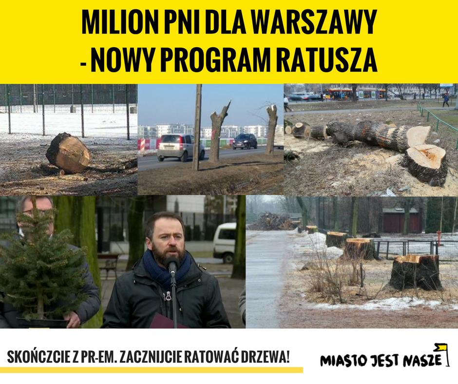 Milion pni dla Warszawy… – nietylkoPiS jest odpowiedzialny zawycinki!