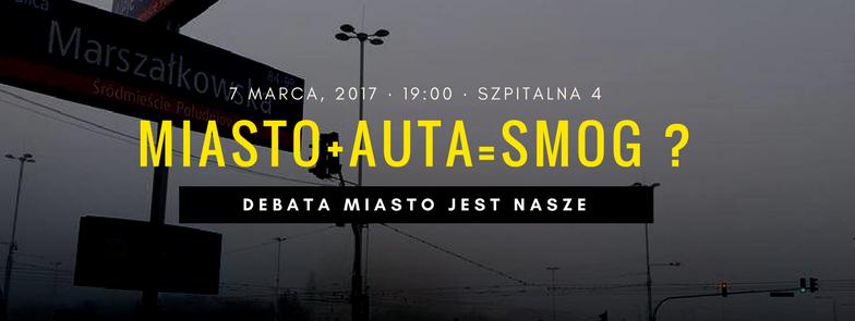 Miasto+auta=smog? – Debata wCIOS 7.03