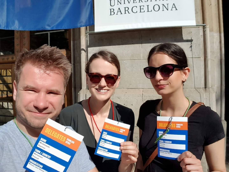 MJN naświatowym kongresie ruchów miejskich wBarcelonie