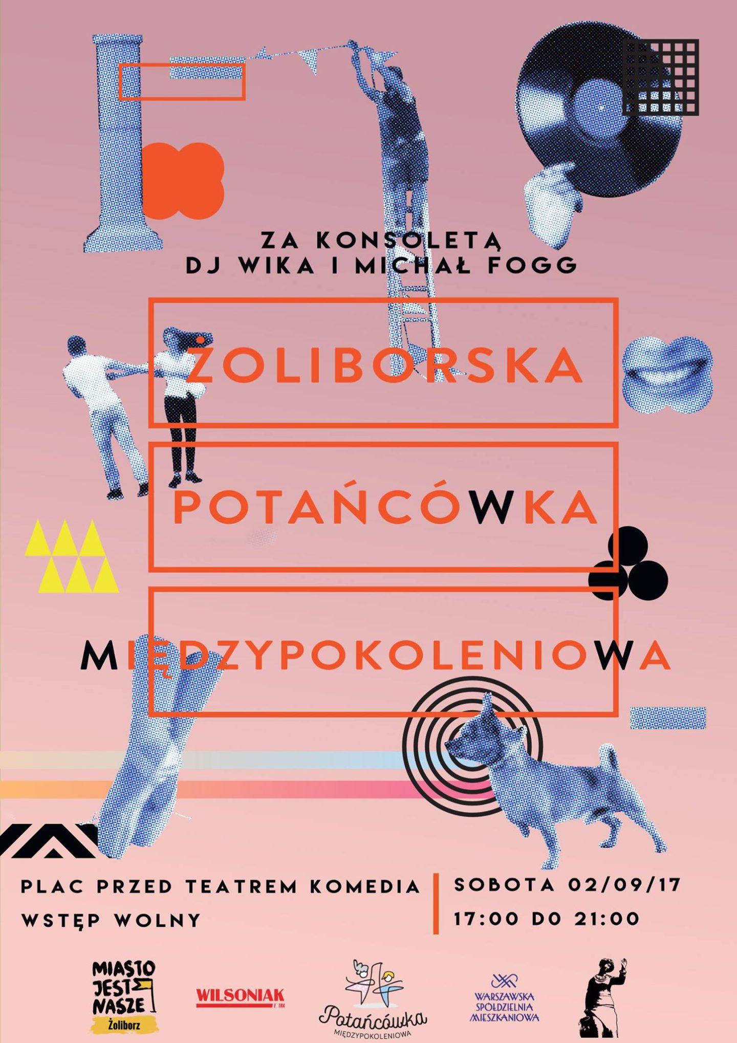 Żoliborska Potańcówka 2017 – Koniec Wakacji!