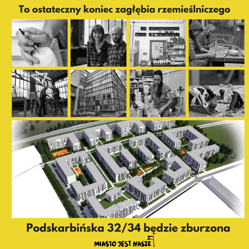 Podskarbińska 32/34 dowyburzenia