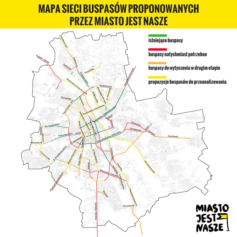 Buspasy dla Warszawy