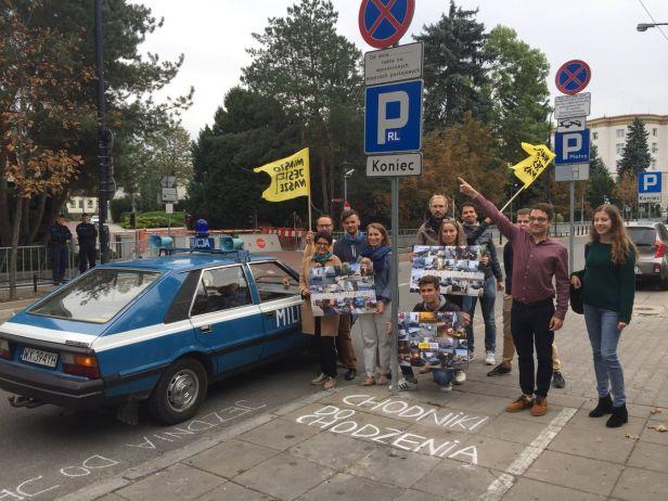 Chcemy dekomunizacji chodników!