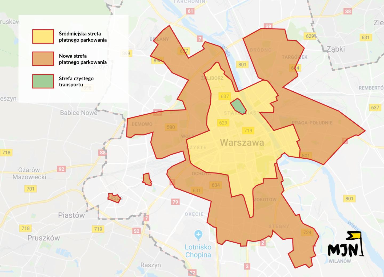 Nowy Ład Parkingowy dla Warszawy