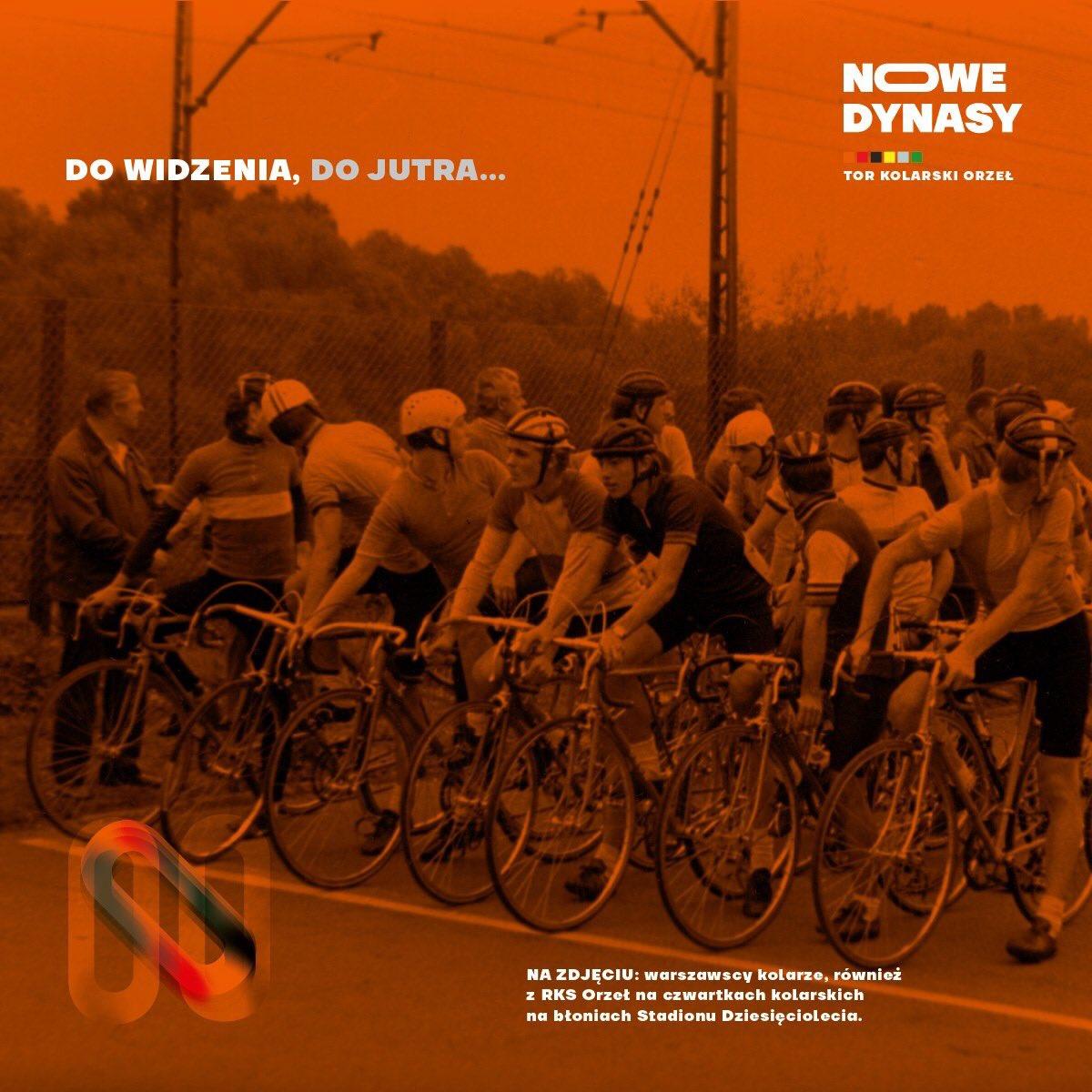 Urodziny toru kolarskiego Orzeł