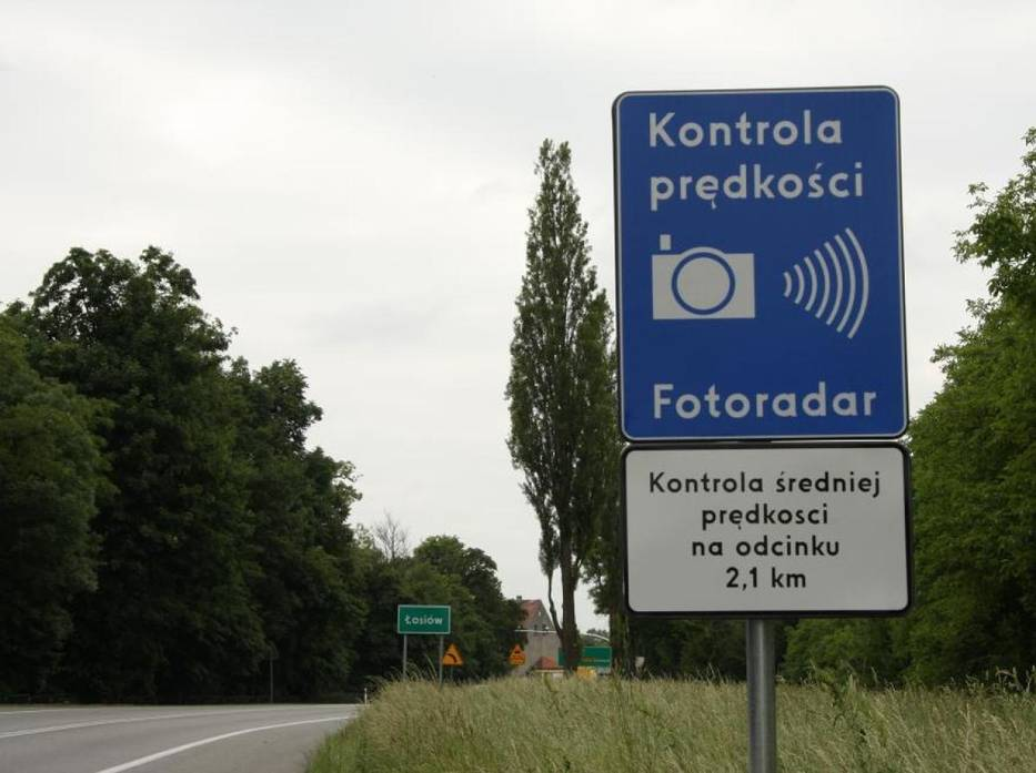Kontrola prędkości popolsku? Fikcja iniegospodarność