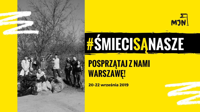Śmieci są nasze – posprzątaj znami Warszawę!