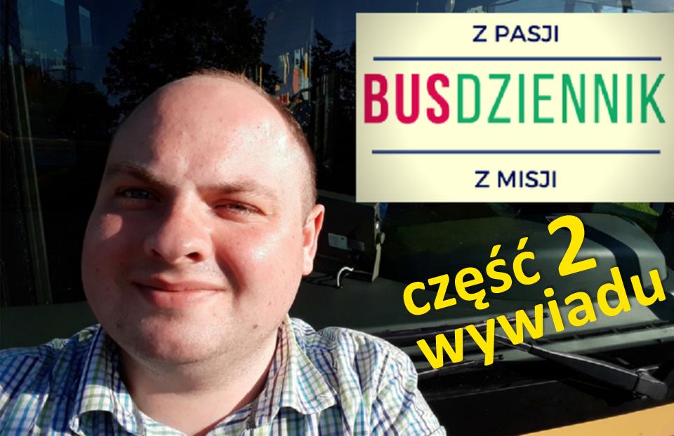 Topasażer powinien czekać naautobus – wywiad zkierowcą MZA [część 2]