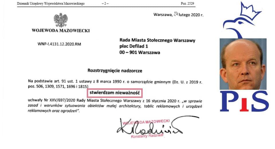 Warszawa, Konstanty Radziwiłł ireklamoza – Q&A