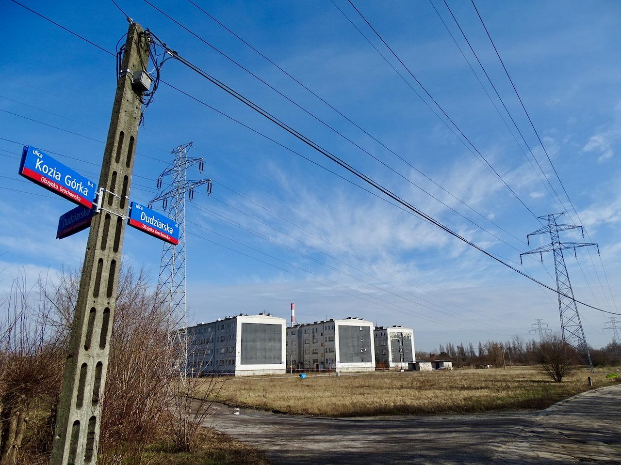Ostatni lokatorzy opuścili Dudziarską