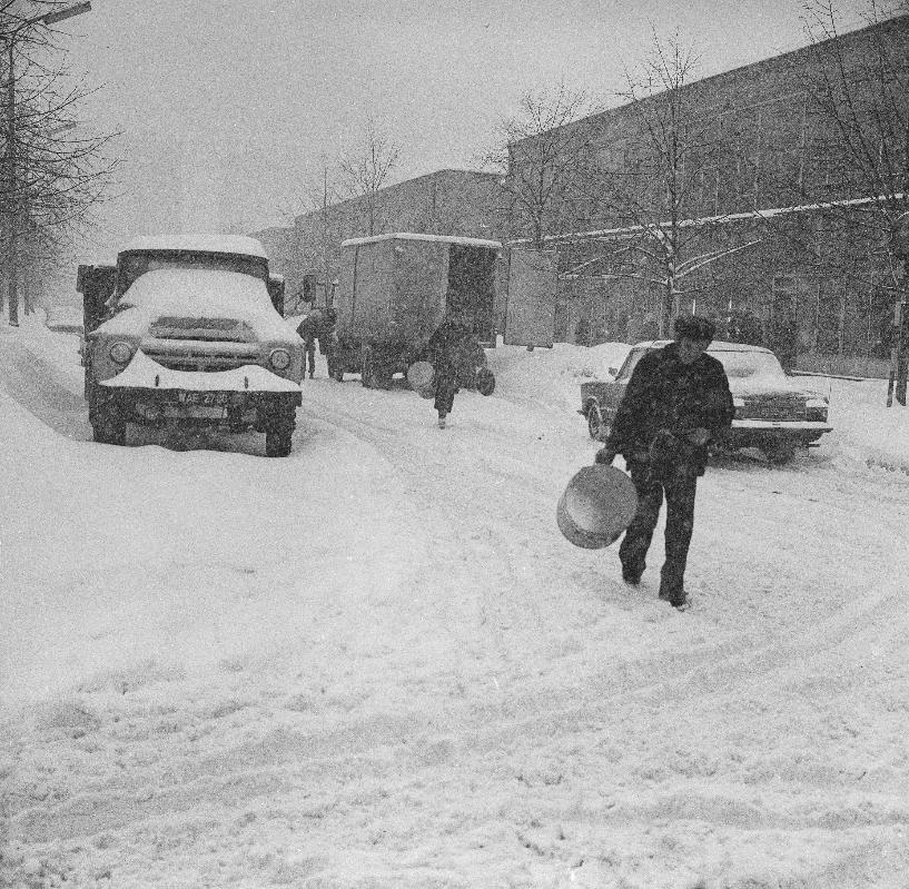 Warszawiacy żegnają śnieżne zimy