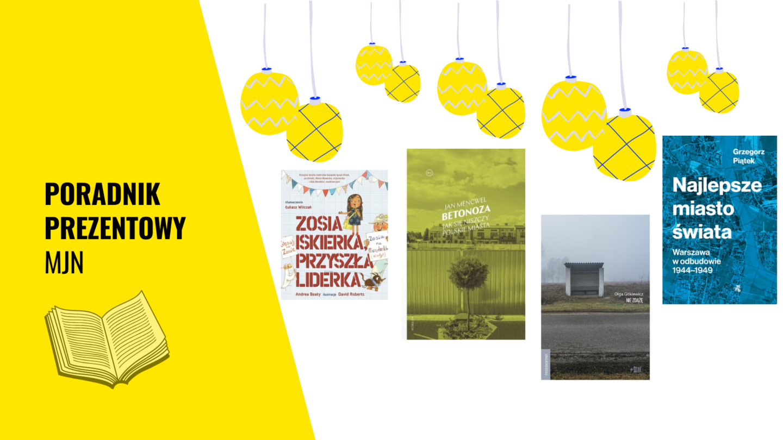 Poradnik prezentowy MJN – książki, upominki odwarszawskich rzemieślników ipomysły zero waste!
