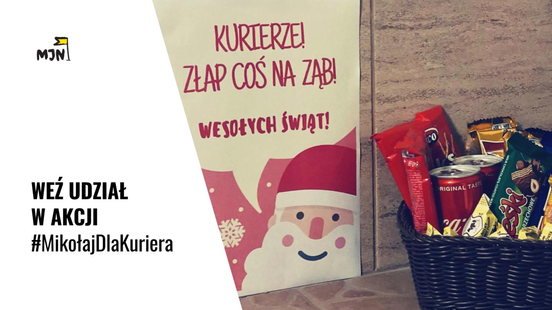Weź udział wakcji #MikołajDlaKuriera!
