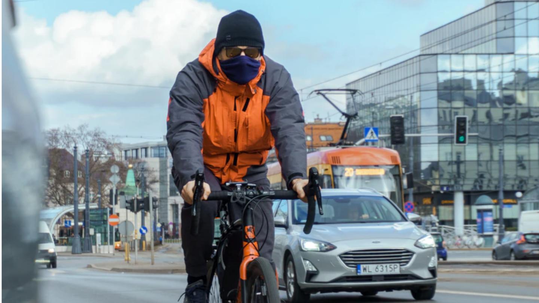 Ile naprawdę wypadków powodują rowerzyści?